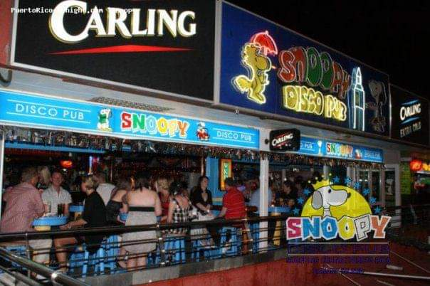 Snoopy Disco Bar 1998